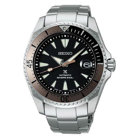 Relógio Seiko Prospex Shogun Safira Spb189j1 Made in Japan