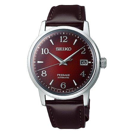 Relógio Seiko Presage Coquetel Negroni Burgundy Automático srpe41j1 Made in Japan