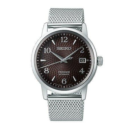 Relógio Seiko Presage Coquetel Black Russian Automático srpf39j1 / SARY179 Made in Japan