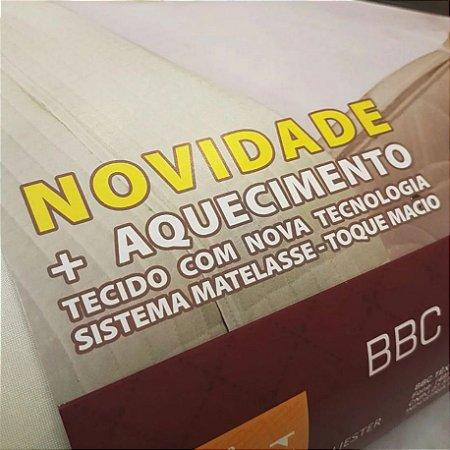 """Lençol Térmico Casal em Matelasse  """"Fofinho"""" Toque Macio Exclusive 110 V"""