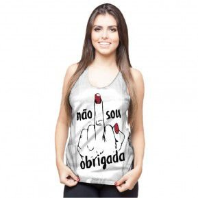 5 REGATAS FEMININA - 180,00 NO DEPÓSITO (ATRAVÉS DO WHATSAPP)