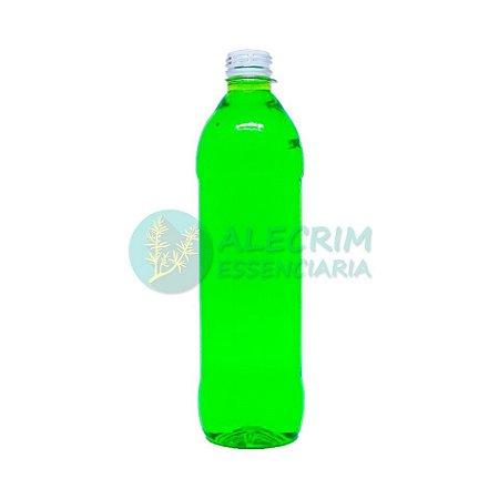 Frasco Pet Cristal Cilíndrico 500ml rosca R28/410