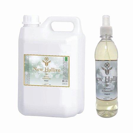 Aromatizante de Ambientes New Hallive 5lt + Spray 500ml