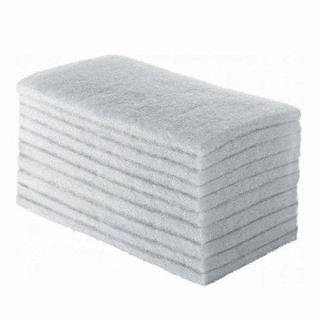Fibra Macia Branca Para Limpeza Leve Kit c/10