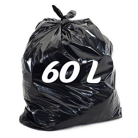 Saco De Lixo 60lt Preto