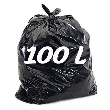 Saco De Lixo 100lt Preto