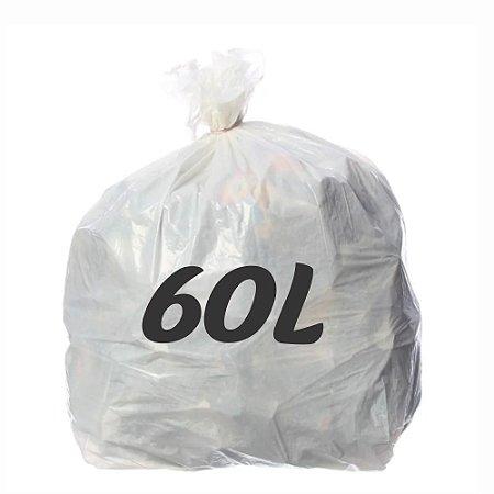 Saco De Lixo 60lt Branco