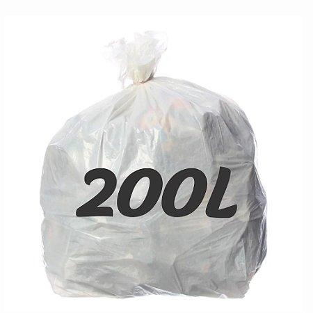 Saco De Lixo 200lt Branco
