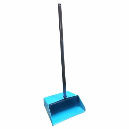 Pá Plástica Coletora Pop Azul Moppita
