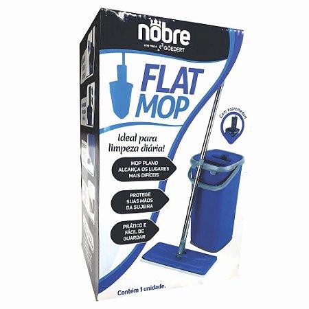 Mop Flat Nobre Balde Lava E Espremedor