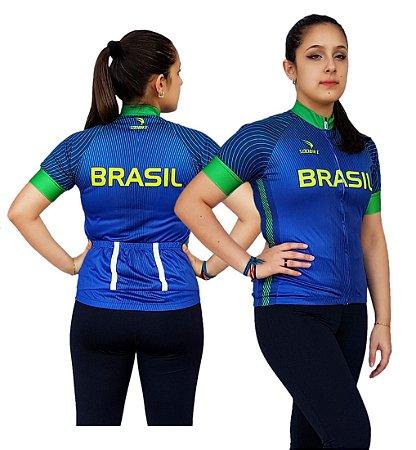 Camisa Ciclismo Sódbike Olimpica 21 Feminina