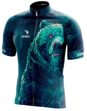 Camisa Ciclismo Sódbike Urso - Promoção