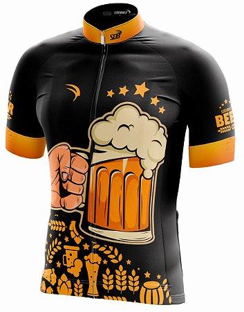 Camisa Ciclismo Sódbike Beer-3 ZiperFull - Promoção