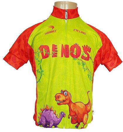 Camisa Ciclismo Infantil Sódbike SD 21 - Dinos