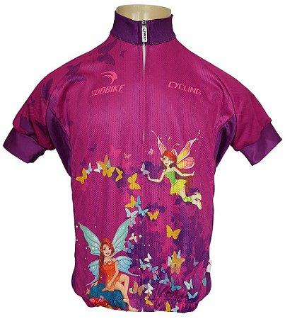 Camisa Ciclismo Infantil Sódbike SD 21 - Fada