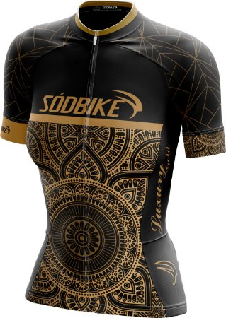 Camisa Ciclismo Lux Gold