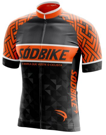 Camisa Ciclismo 002 laranja