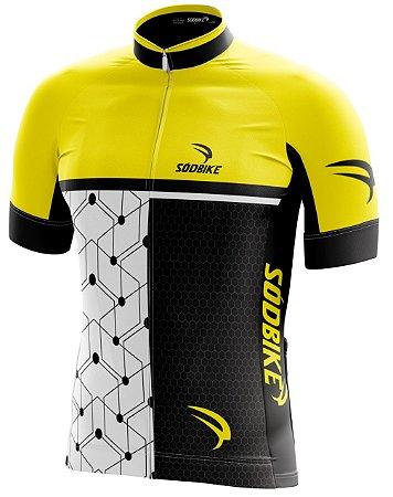 Camisa Ciclismo 005 Amarela