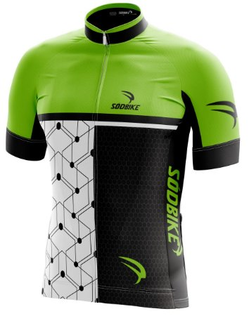 Camisa Ciclismo 005 Verde