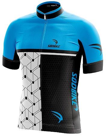 Camisa Ciclismo 005 Azul
