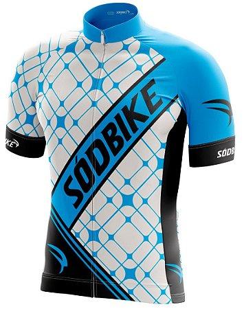 Camisa Ciclismo 004 Azul