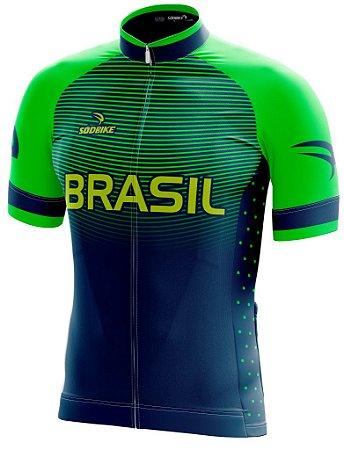 Camisa Ciclismo Brasil Olimpica