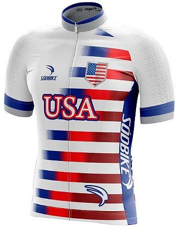 Camisa Ciclismo USA 2018