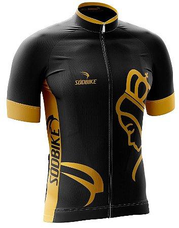 Camisa Ciclismo NSA-5 Preto