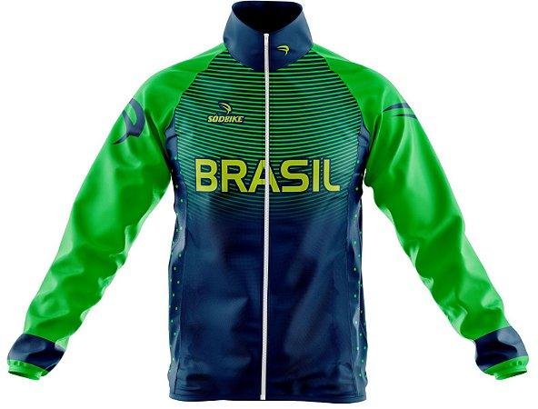 Jaqueta Corta Vento Brasil Olimpica