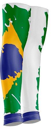 Manguito Sódbike Brasil Branco