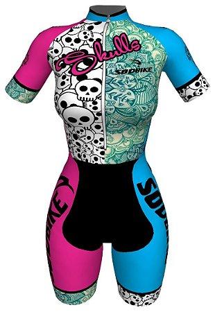 Macaquinho Ciclismo Skull