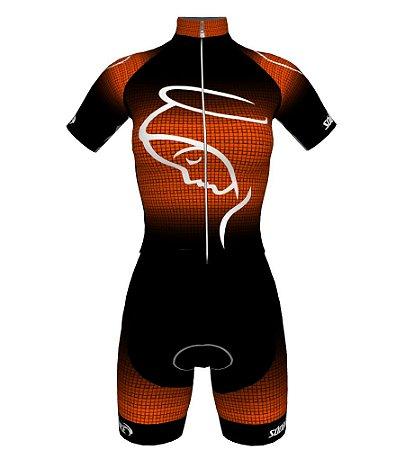 Macaquinho Ciclismo NSA-2 Laranja