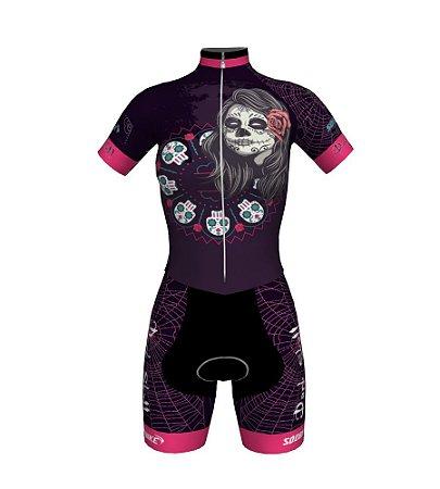 Macaquinho Ciclismo Dark Skull