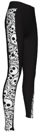 Calça Ciclismo Feminina Skull-1