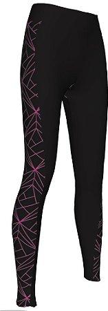 Calça Ciclismo Feminina Lux Pink