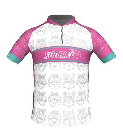 Camisa Ciclismo Infantil Corujinha