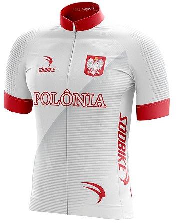 Camisa Ciclismo Polônia