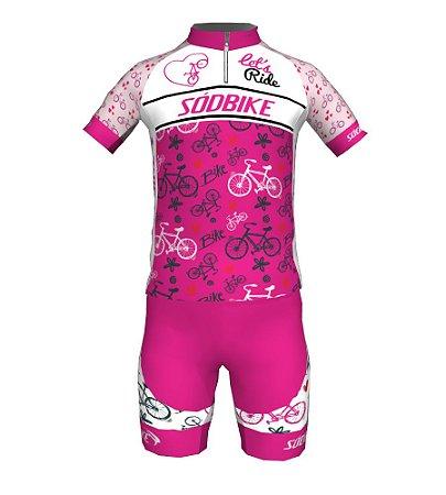 Conjunto Ciclismo Infantil Let's Ride