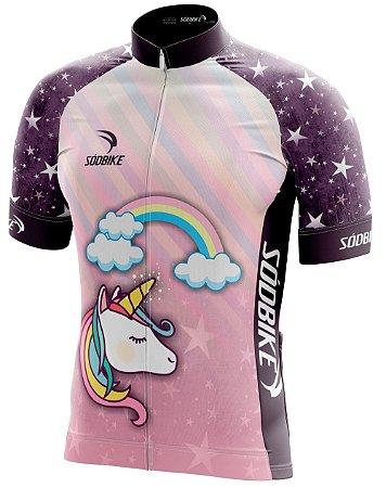 Camisa Ciclismo Unicórnio Unissex