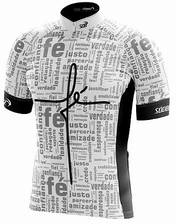 Camisa Ciclismo Fé Branca