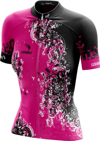 Camisa Ciclismo Feminina F09