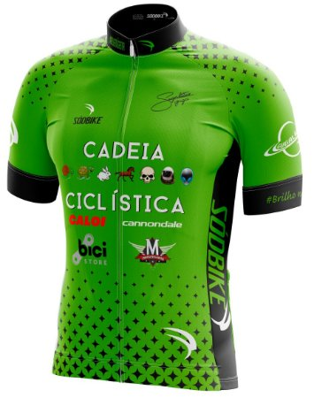 Camisa Cadeia Ciclística Nova