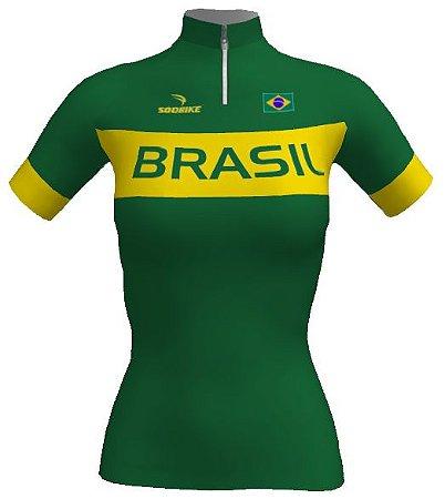 Camisa Brasil Verde