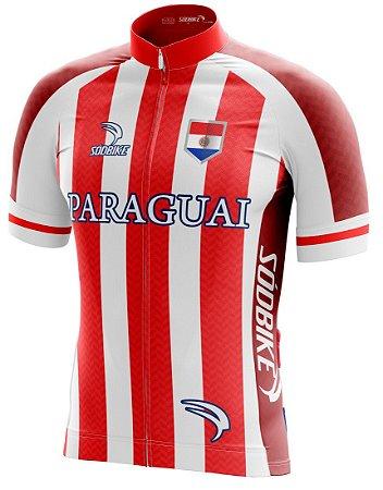 Camisa Ciclismo Paraguai