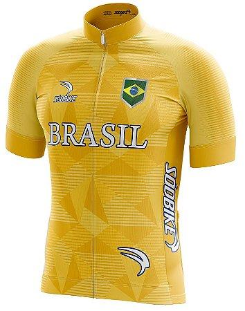 Camisa Brasil Copa Amarela
