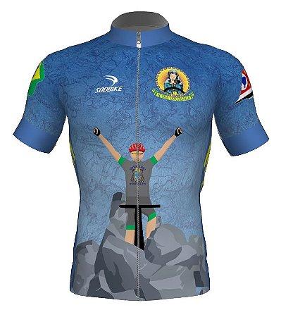 Camisa INFANTIL Padroeira dos Ciclistas - N. S. de Ghisallo