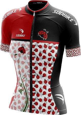 Camisa Ciclismo Joaninha - Ziper Full