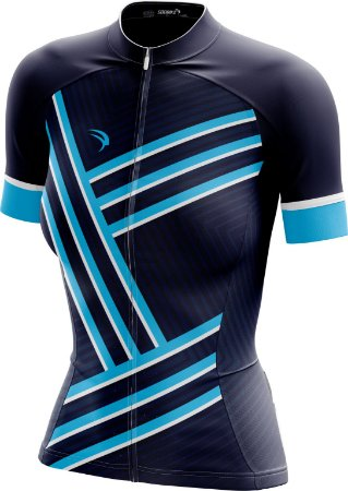 Camisa Ciclismo Feminina F017 - Ziper Full