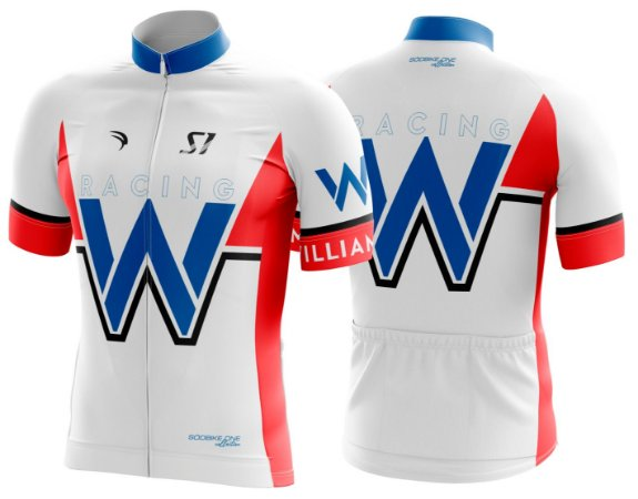 Camisa Ciclismo Sódbike S1 - Williams