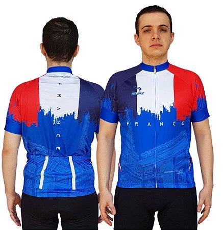 Camisa Ciclismo Sódbike Nações - França